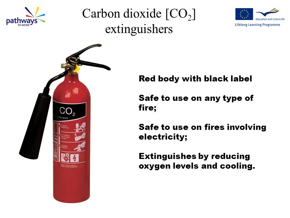 Carbon dioxide [CO2] extinguishers
